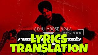Racks And Rounds Lyrics in English   With Translation   – Sidhu Moose Wala