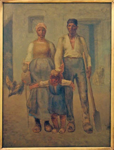 Жан Франсуа Милле - Крестьянская семья