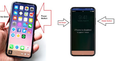 The way to reboot and reset your iPhone X or iPhone 8