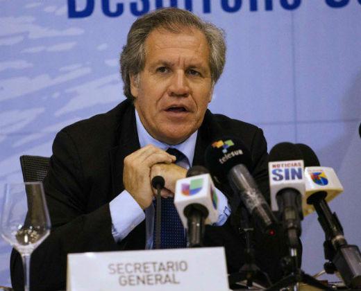 Almagro: Activación de la Carta Democrática a Venezuela está en su penúltimo paso