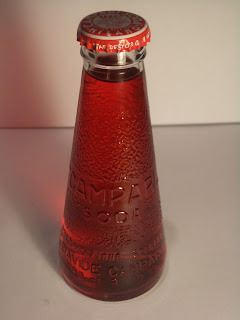 Fortunato Depero's 1932 Campari Soda bottle is still in production today