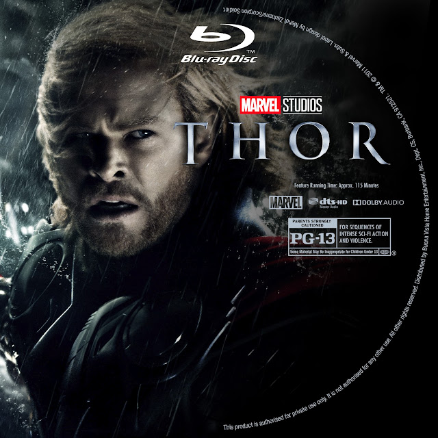 Thor Bluray Label