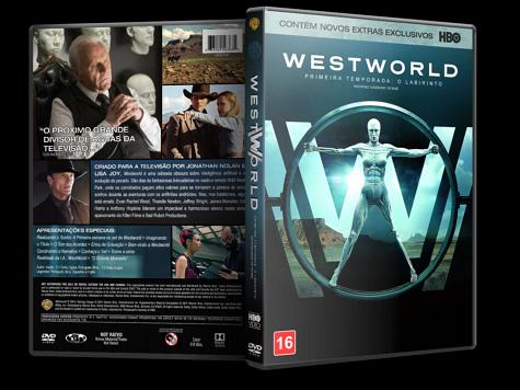 Capa DVD Westworld 1ª Temporada