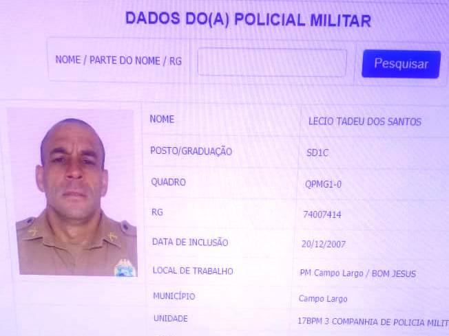 Estresse funcional: Desentendimento entre PMs acaba com um morto em Campo Largo