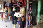 Polsek Kuala Behe Minta Toko-Toko Siapkan Tempat Cuci Tangan