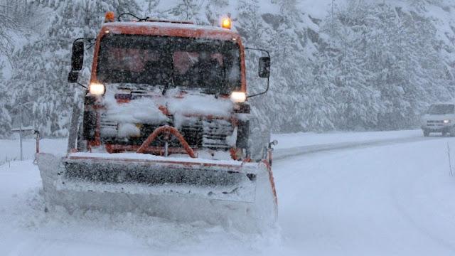 Έκτακτο δελτίο της ΕΜΥ: Έρχεται 48ωρο με χιόνια, καταιγίδες και μποφόρ