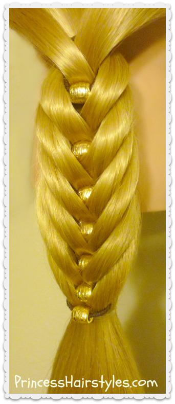 Fancy Fishtail Kit Hair Tutorial, Fishtail Braid With ...