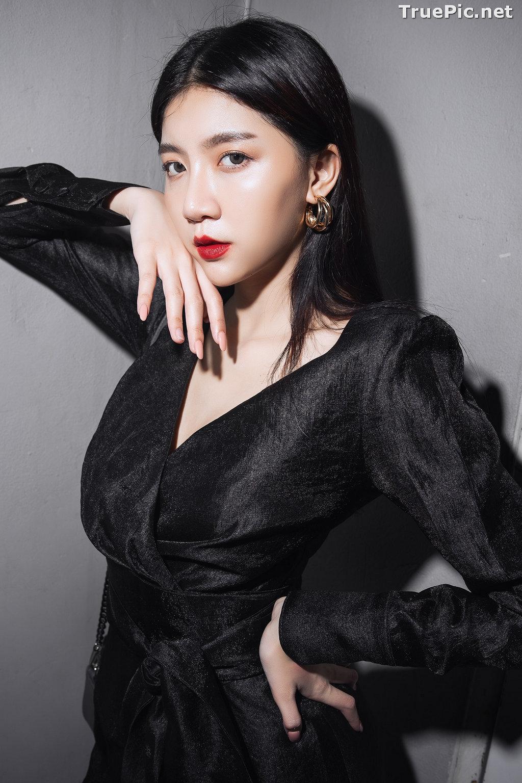 Image Thailand Model - Sasi Ngiunwan - Black For SiamNight - TruePic.net - Picture-6