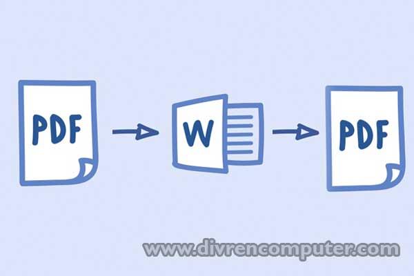 convert pdf, pdf to word