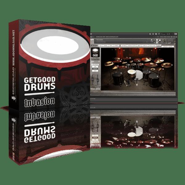 GetGood Drums Invasion KONTAKT Library