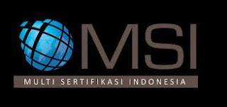 Lowongan Kerja PT Multi Sertifikasi Indonesia