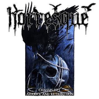 "Horresque - ""Chasms Pt. I – Avarice And Retribution"" - 2020, Black / Death Metal"