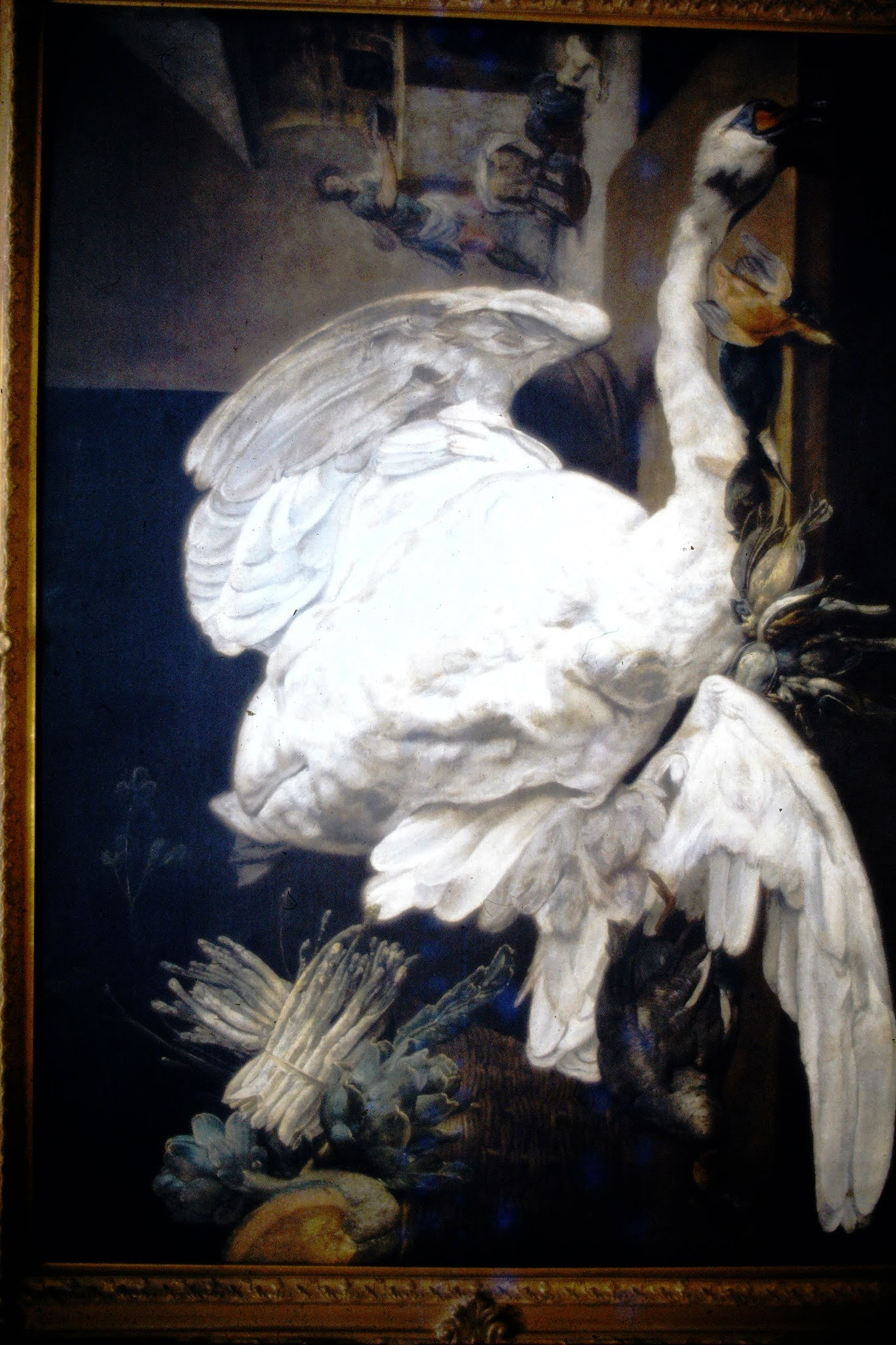 Snyders Still Life with swan