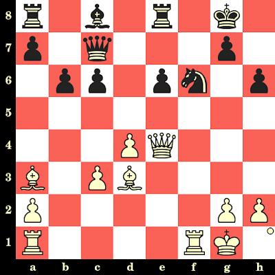 Les Blancs jouent et matent en 4 coups - Ketevan Arakhamia-Grant vs Miroljub Lazic, Cetinje, 1991