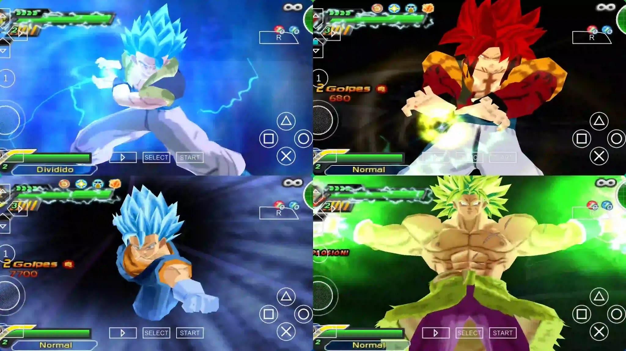 Dragon Ball Super PPSSPP DBZ TTT MOD ISO