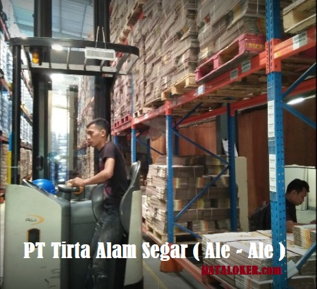 INFO Loker Driver Forklift di PT Tirta Alam Segar ( Ale - Ale ) Kawasan MM2100 Cibitung