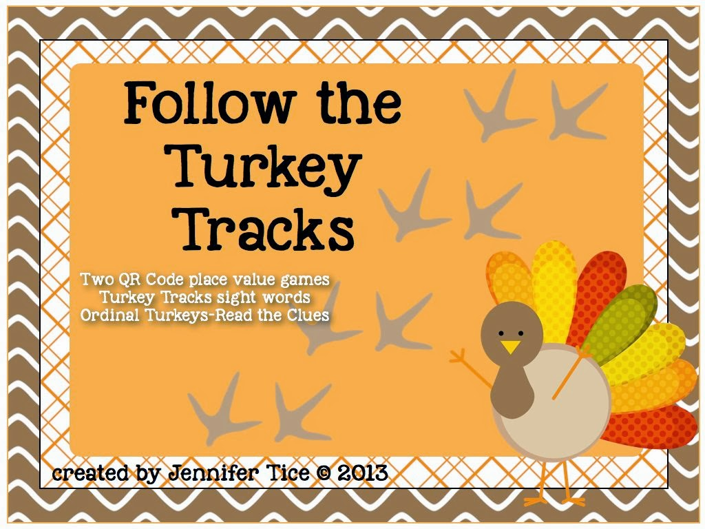 Follow The Turkey Tracks