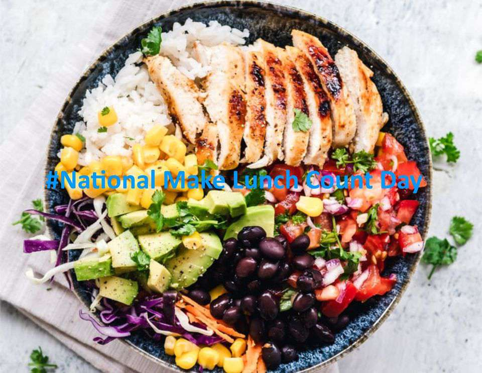 National Make Lunch Count Day Wishes Sweet Images