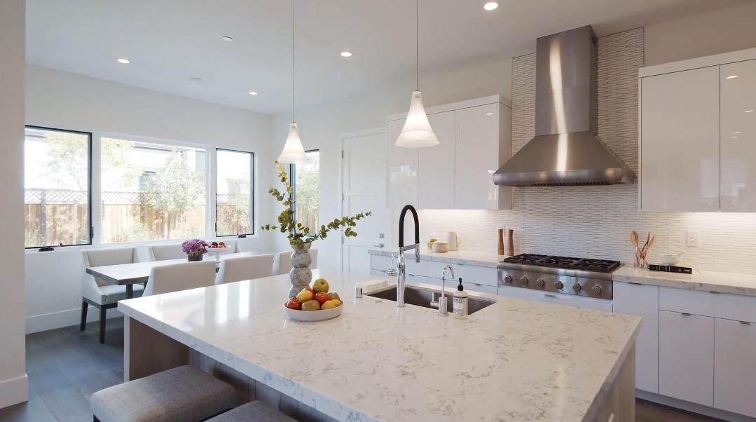 33 Interior Design Photos vs. 4103 Clemo Ave, Palo Alto, CA Luxury Home Tour