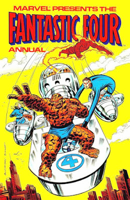 Fantastic Four Annual 1980, Marvel UK