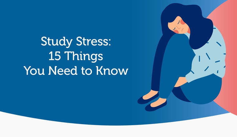 Study Stress Infographic—15 Things You Need to Know #Infographic