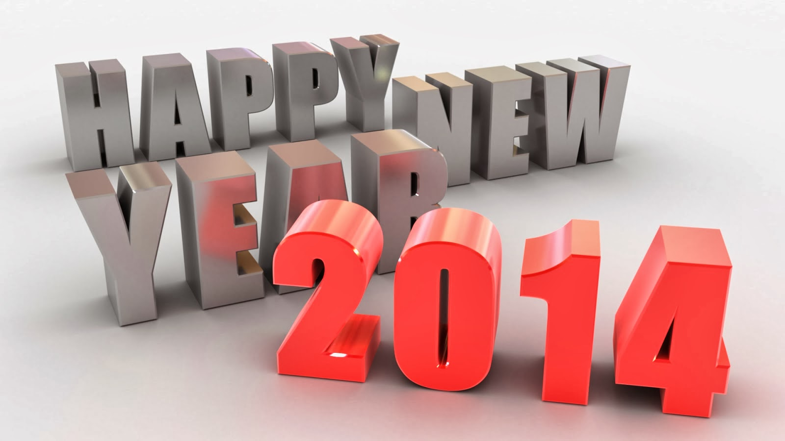 Animated Happy New Year 2014 Greetings Hd Wallpaper Free Download