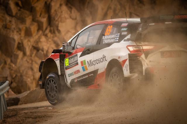 Rally Racing Sweden WRC Toyota Yaris WRC car