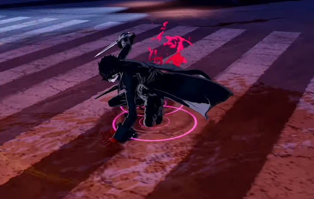 Joker dagger sword Persona 5 Strikers