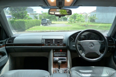 Interior Mercy W140 Facelift