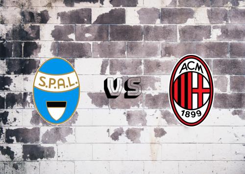 SPAL vs Milan  Resumen y Partido Completo