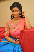 Nithya Shetty in Orange Choli at Kalamandir Foundation 7th anniversary Celebrations ~  Actress Galleries 108.JPG