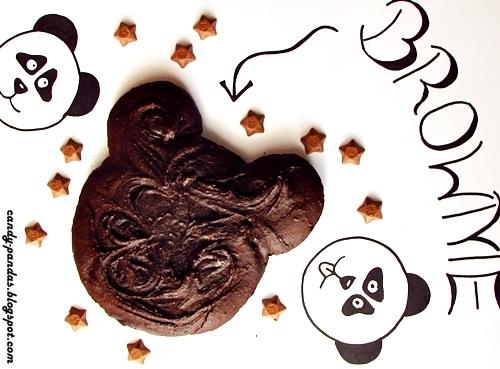 Pandziaste kasztanowe brownie (bez glutenu, cukru białego, laktozy, wegańskie)