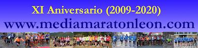 XI Aniversario Media Maraton Leon 2020