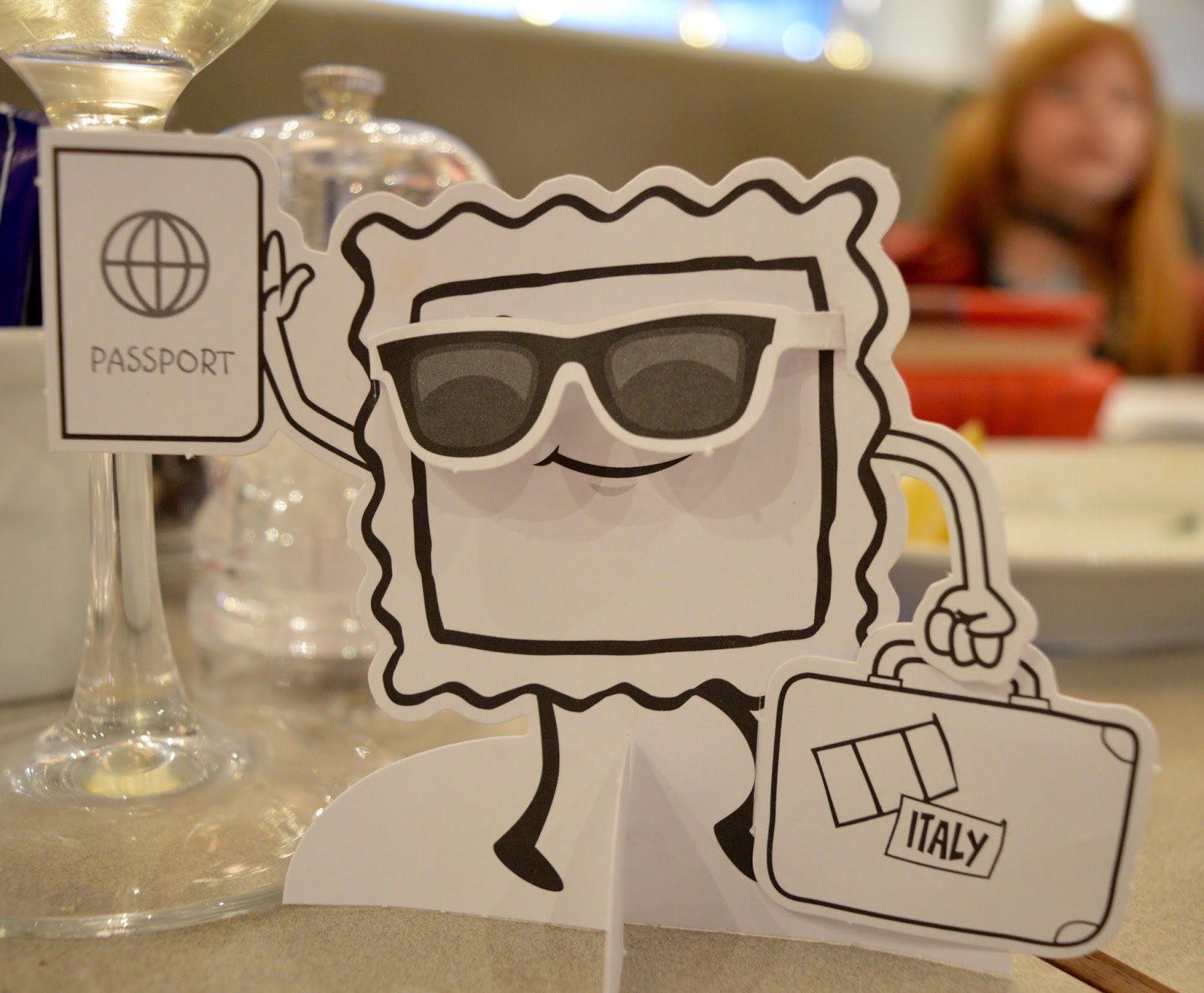 Carluccio's - intu Metrocentre | Children's Menu Review - kids cut out ravioli activity