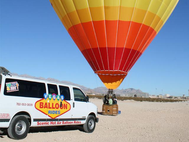Cerimônias em balão em Las Vegas