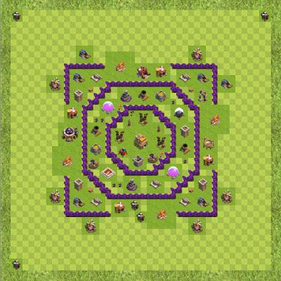 War Base Town Hall Level 7 By Akash Hum (Akash TH 7 Layout)