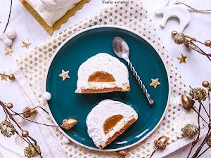 Entremets vanille caramel, façon Equinoxe de Cyril Lignac