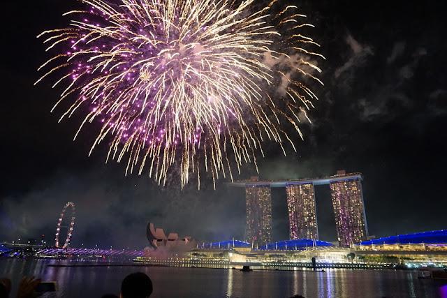 Como é passar o Ano Novo em Cingapura
