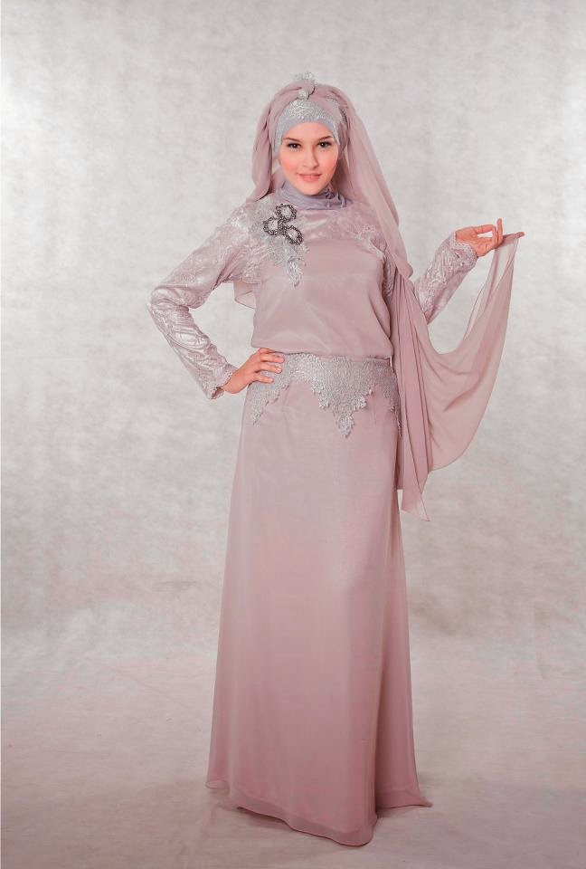 Model baju dress muslim modern terkini