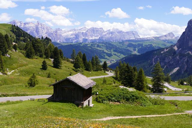 colfosco rifugio jimmy edelweiss sentiero panoramico
