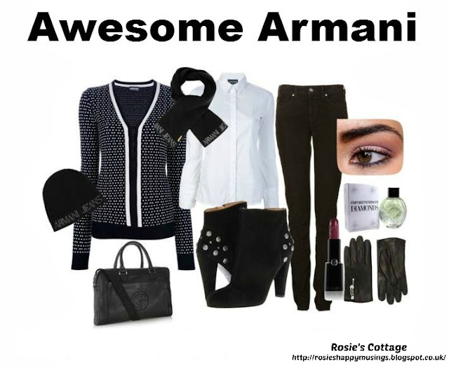 Release your inner designer with Polyvore - Awesome Armani by Rosies Cottage