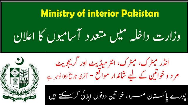 Jobs in Pakistan 2020