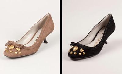 zapatos marrones negros