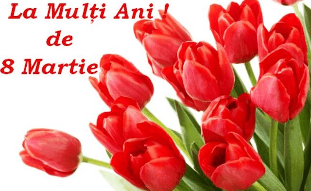 8 martie 2021, Ziua Internaţională a Femeii. La mulţi ani, doamnelor şi domnişoarelor! Happy Women's Day!