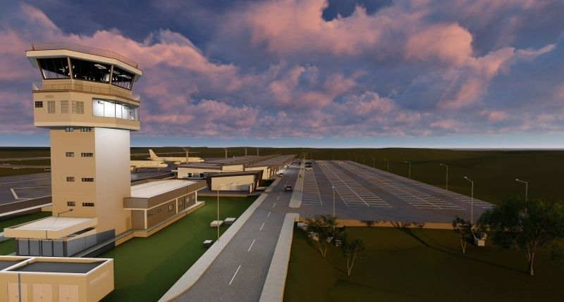 Novo aeroporto projeta sistema completo de escoamento no Rio Grande do Sul