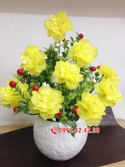 Hoa pha le tai Long Bien