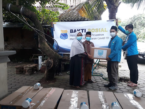 covid-19 meningkat pmii jepara salurkan donasi