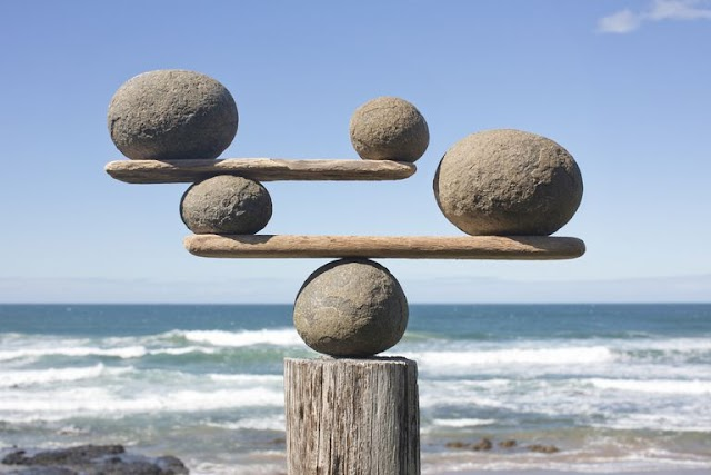 संतुलन साधने की कला