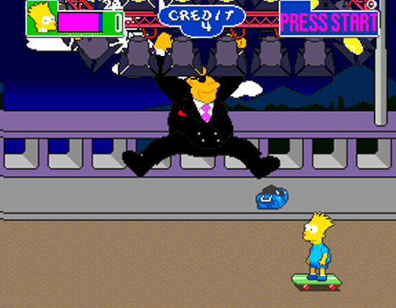 The Simpons Arcade Game 11