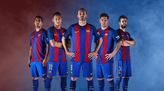 Barcelona 2016-17 Home Jersey Online Purchase